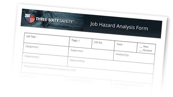 Three Sixty Safety Job Hazard Analysis Form
